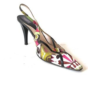 Emilo Pucci Frenzi Pump Heel ITALY Size 10 US